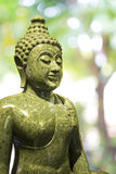 Granito verde Buddha Fotografia Stock