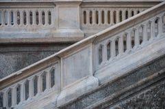 Granito y pasos de progresión concretos Fotos de archivo