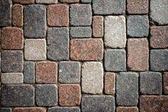 Granitowa brukowa tekstura Fotografia Stock