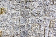 Granitowa kamienna ściana Zdjęcie Stock