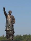 Granitowa statua polician i lider Zdjęcie Royalty Free