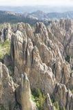 Granitowe formacje w Czarnych wzgórzach Fotografia Royalty Free