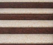 granitowi schody. Zdjęcia Stock