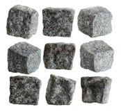 Granitowi sześciany obraz stock