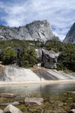 granitowy jeziorny halny szczyt Fotografia Royalty Free