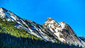 Granitowy szczyt Yak góra w Kaskadowym pasmie górskim Fotografia Royalty Free