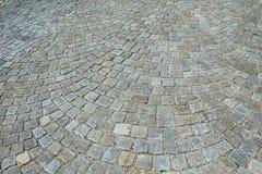Granitpflasterung Stockfoto