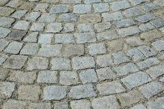 Granitpflasterung Stockbilder