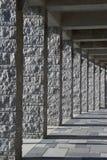 Granitpfosten lizenzfreie stockfotos
