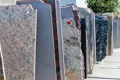 Granitplatten Stockfoto