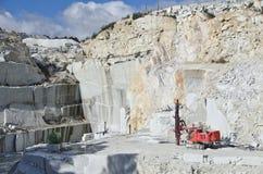 Granitsteinbruch Lizenzfreies Stockbild