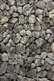 Granitsteinplattenwand Stockfotos