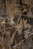 Granitte marble. Brown marble granitte with white lines Stock Photography