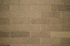 Granittegelstenvägg Royaltyfri Foto