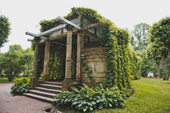 Granitterrass i Catherine Park 1065 Arkivfoton