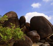 granitu duży kamień Obraz Stock