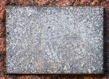 Granitu kamienia talerza tło Obrazy Stock