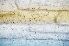 Granitu kamiennego dekoracyjnego ściana z cegieł tła bezszwowa tekstura Obraz Royalty Free
