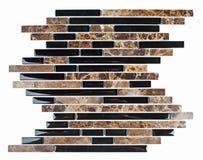 granitu marmurowej mozaiki naturalna płytka Obraz Royalty Free