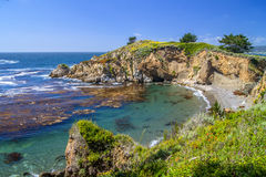 Granitu punktu ślad, punktu Lobos stanu rezerwa Zdjęcia Royalty Free