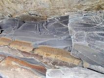 granitu rock Kamienny tekstury zbliżenia tło Szorstki Kamienny tekstury tło Fotografia Royalty Free