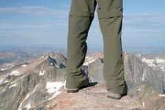 granitu szczytu piku Fotografia Royalty Free