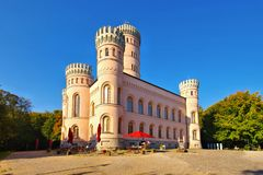 Granitz castle on the island Rugen royalty free stock images