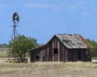 Granja abandonada Foto de archivo libre de regalías