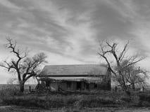 Granja abandonada Fotos de archivo