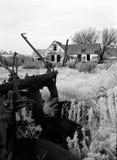 Granja abandonada Fotos de archivo libres de regalías