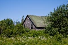 Granja abandonada Fotografía de archivo