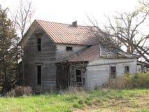 Granja abandonada Fotografía de archivo libre de regalías