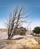 Granja abandonada en Oregon central Fotografía de archivo libre de regalías
