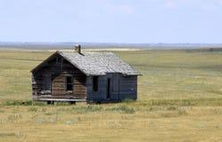 Granja abandonada vieja Foto de archivo libre de regalías