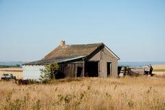 Granja abandonada vieja Fotografía de archivo