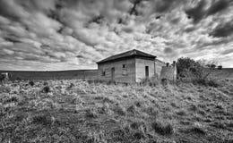 Granja abandonada vieja Australia del país Fotos de archivo libres de regalías