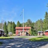 Granja ambiental de Hertsö en Luleå Fotos de archivo