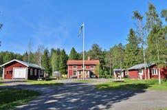 Granja ambiental de Hertsö en LuleÃ¥ Imagen de archivo libre de regalías
