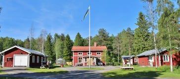 Granja ambiental de Hertsö en LuleÃ¥ Fotos de archivo libres de regalías