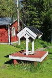 Granja ambiental de Hertsö en LuleÃ¥ Foto de archivo libre de regalías