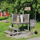 Granja ambiental de Hertsö en LuleÃ¥ Fotografía de archivo