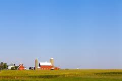 Granja americana del país Imagen de archivo