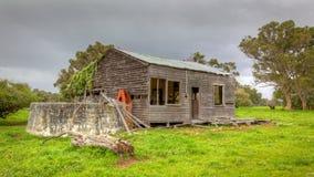 Granja australiana abandonada Imagen de archivo libre de regalías