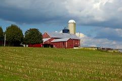 Granja de Amish Imágenes de archivo libres de regalías