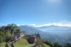 Granja de Cingjing, el condado de Nantou, Taiwán Imagen de archivo libre de regalías