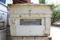 Granja de la abeja Imagenes de archivo