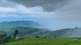 Granja de la montaña Fotografía de archivo
