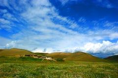 Granja de la pradera Foto de archivo libre de regalías