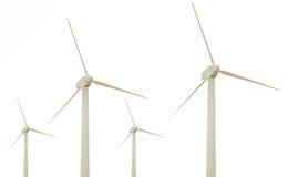 Granja de viento Imagen de archivo libre de regalías
