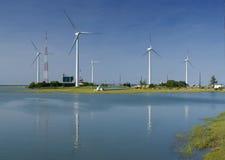 Granja de viento Foto de archivo libre de regalías